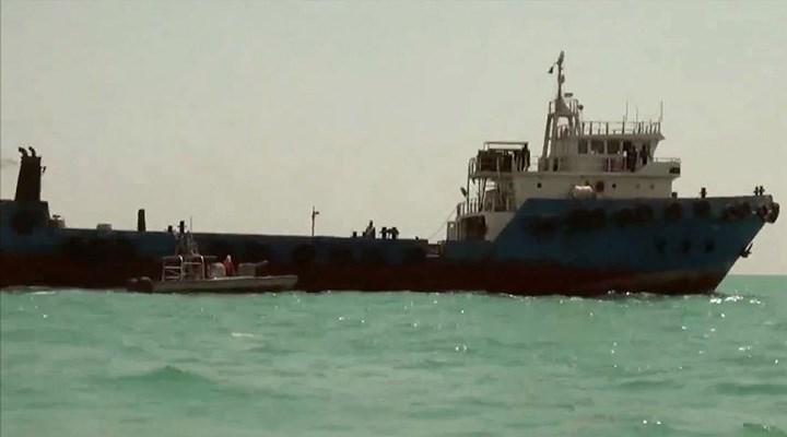 İran BAE  Gemisine El Koydu !