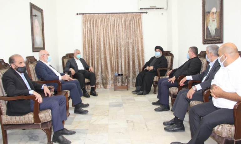 Hizbullah ile Hamas Liderleri Görüştü