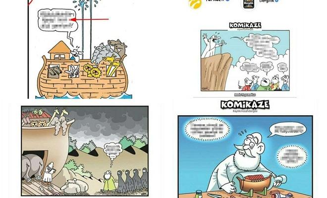 Turkcell'den Ahlaksız Karikatürler !