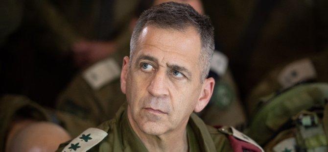 İsrail Genelkurmay Başkanı Sivilleri Vurmakla Tehdit Etti