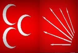 """""""CHP ve MHP'nin Sadece Amblemleri ve İsimleri Farklı"""""""