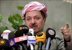Barzani Türkiye'den peşmerge için resmi izin istedi