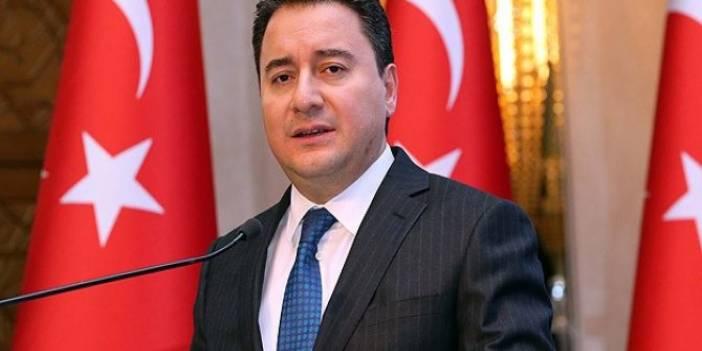 Ali Babacan'dan MHP'ye Sert Eleştiriler