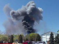 Ukrayna ordusuna ait helikopter vuruldu