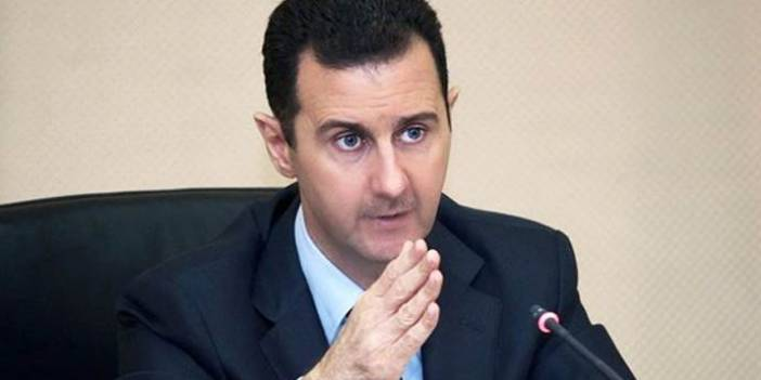 Esad'dan Harita Provokasyonu