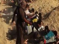 Tekfirciler 33 Kişinin Kafasını Keserek İnfaz Etti