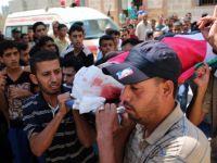 Gazze Şehitlerini Uğurladı (FOTO)