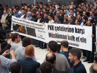 HÜDAPAR'dan Eylem: Fatih'de Çetelere Lanet Yağdı-FOTO
