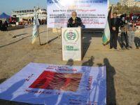 Metin Yüksel Gazze'de Anıldı