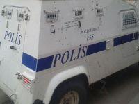 Diyarbakır'da Plakasız Polis Araçları