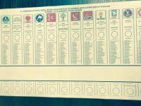 2019 Seçimi Oy Pusulası