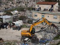 İşgalci İsrail'in 2018  Yıkım Bilançosu