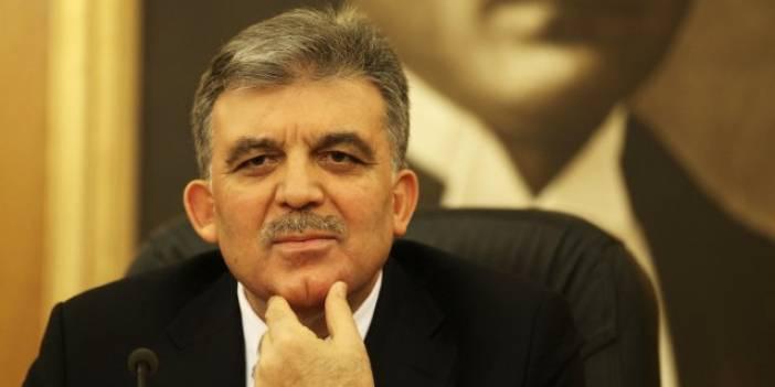 Abdullah Gül  Siyasi Mesaj Verdi