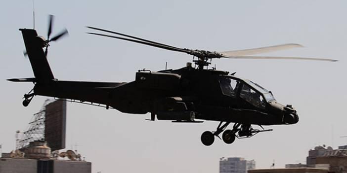 Suriye'nin Kuzeyinde ABD Helikopteri Düştü