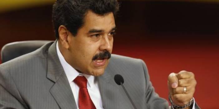 VENEZUELA Lideri Maduro :  Yerin Dibine Batsın Kınamalarınız!