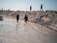 Gazze'deki  Tarım Arazileri Sular Altında Kaldı