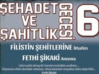 Konya'da Şehadet ve Şahitlik Gecesi 6