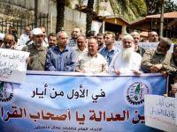 Gazze' den, Filistinli Tutuklulara  Destek Eylemi