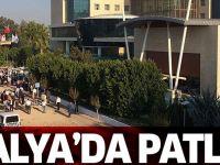Antalya'da Patlama