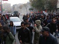Eylem Yapan HDP'lilere Polis Müdahalesi
