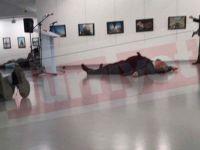 Andrey Karlov'un Vurulma Anı (VİDEO)