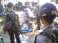 Arakanlı Müslümanları Döven Polislere Gözaltı