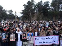 Afganistan'da Mezhepçilik Fitnesine Karşı Protesto