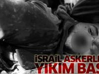 İsrail Askerlerinden Köye Baskın