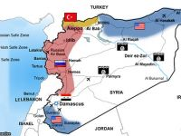 Siyonistler Yeni Suriye Haritasını Yayınladı