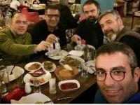 CHP Rakı Masasında Memleketi Kurtarmayı Sürdürüyor