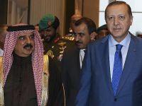 Cumhurbaşkanı Erdoğan, Bahreyn Kralı Halife ile Görüştü