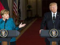 Trump-Merkel Görüşmesinde 'Tokalaşma' Krizi