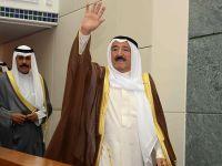 Erdoğan, Kuveyt Emiri el Sabah'ı Karşıladı