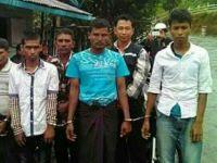 Arakanlı Müslümanlar Tutuklandı
