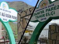 Kayyım Tahir Elçi Parkı'nın Adını Değiştirdi