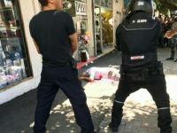 Bugün Gerçekleşen Eylemde Bir Siyonist Polis Yaralandı