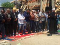 Sırplar Cami İnşaatını Yıktı