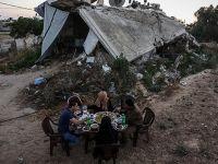 Siyonist Rejim Gazze'yi Havadan Vurdu