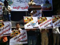 Hamas'tan Mescidi Aksaya Destek Gösterisi