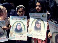 Gazze'de Filistinli Kadın Esirlere Destek Eylemi