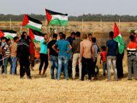 Büyük Dönüş Yürüyüşü  Gazze'de 431 yaralı
