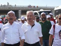 Başörtüsü Düşmanı Alemdaroğlu CHP Yürüyüşünde !