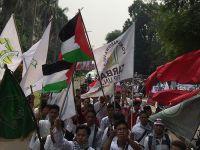 Endonezya'da Mescid-i Aksa'ya Destek Gösterisi Düzenlendi