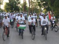 Mersin'de Kudüs için Pedal Çevrildi