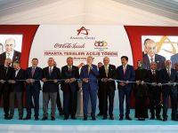 Erdoğan Coca Cola Fabrikasının  Açılışını Yaptı
