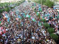 Pakistanlı Müslümanlar Arakan İçin Yürüdü