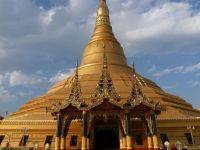 Myanmar'da Budist Tapınağı Sulara Gömüldü