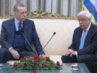 Erdoğan'dan Yunanistan'da Lozan Resti