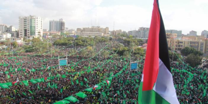 Hamas, 30. kuruluş Yıl Dönümünü Kutladı (FOTO)