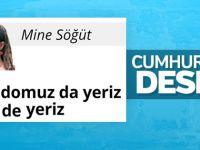 Cumhuriyet Yazarı: Domuz Eti Yeriz...